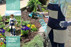 Split Skirt Gardening Apron from Sew4Home