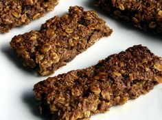 Healthy Breakfast Bars - Fiber, Protein and fruit.