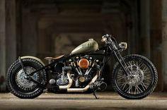Harley-Davidson Shovelhead | Bobber Inspiration - Bobbers and Custom Motorcycles | bobberinspiration October 2014