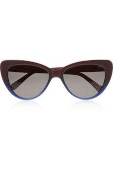 Estilo básico y esencial. Prism Capri cat eye acetate sunglasses   NET-A- 1cb4f4f927