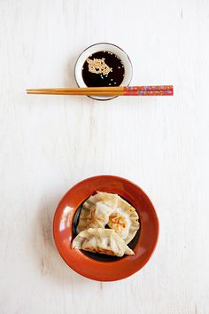 Pork and Shiitake Mushroom Gyoza | rasamalaysia.com
