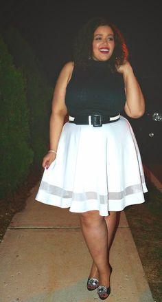 Plus Size Fashion - Inside Allie's World: White Party