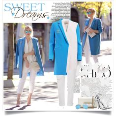 How To Wear Oh My Vogue Blue on White Outfit Idea 2017 - Fashion Trends Ready To Wear For Plus Size, Curvy Women Over 20, 30, 40, 50