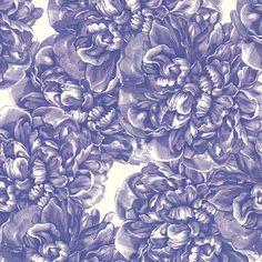 Caskata Artisanal Paper - Blue Peonies