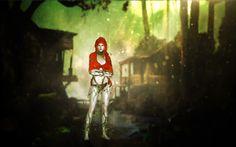 Arkham Asylum Top - Natalia-Auditore