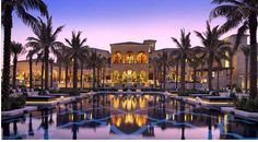 One&Only The Palm offers luxurious beach-front accommodations on Palm Jumeirah's peninsula. One&Only The Palm Dubai Dubai UAE D:Palm Jumeirah R:Dubai Emirate hotel Hotels Dubai Hotel, Dubai Resorts, In Dubai, Dubai Uae, Beach Resorts, Hotels And Resorts, Budget Hotels, Luxury Resorts, Cheap Hotels