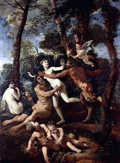 Hadès n'a pas courtisé Perséphone, il l'a enlevée et violée. Perséphone a crié, Zeus a détourné son regard, comme beaucoup de pères incestueux. Dans cette situation, Hadès est la figure archétypale du père, qui porte le diable en lui et passe à l'acte avec sa fille qui ne peut s'échapper. Il est lui-même le père qui conduit sa fille aux enfers.