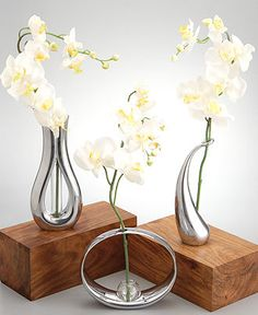 For orchids! Nature Inspired Decor. NAMBE Bud Vase Collection  BUY NOW!