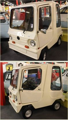 1981 Acomo Comtesse Break Microcar. Made in France,utilizing the Motobecane 49cc single cylinder  engine it had a top speed of 39mph.