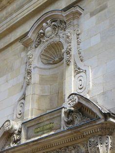 Ancienne chapelle de la Maison des Dames de Saint Joseph (1616), rue Paul-Louis Lande, quartier Sainte Eulalie, Bordeaux, Gironde, Aquitaine...