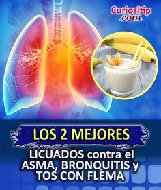 Licuados contra Asma, Bronquitis y Tos con Flema | Curiositip