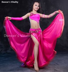 New Design 2017 Kids Child Belly Dance Costume Outfits Indian Set Dress For Children Sexy Kids Girl Dance Wears S/M/L Dance Outfits, Dance Dresses, Baby Girl Dress Design, Girls Dancewear, Belly Dance Outfit, Young Girl Fashion, Korean Beauty Girls, Girl Dancing, Little Girl Dresses