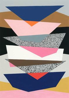 Strata No1 limited edition giclee print by EloiseRenouf on Etsy