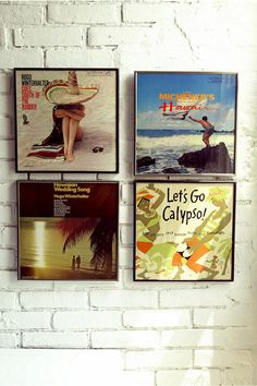 Record Album Frames. Got some of these to show off my favourite old vinyl.