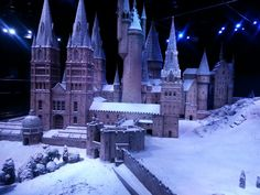 Hogwarts in the snow....