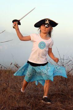 Pirate Bandanna Skirt