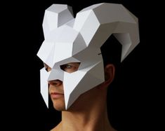 Do you want to create something different and impress at a party or event? Do you enjoy being crafty?  Look no further! You can make your own 3D geometric mask, using the patterns and instructions I created. How you decorate it, is limited only by your imagination. You don't need to be a crafts expert. The instructions are easy to follow and with a little patience and creativity, anyone can make their own unique mask.  You will be able to download the patterns and instructions for the mask…