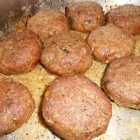 Μπιφτέκια φούρνου αφράτα