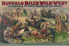 Image result for buffalo bill cody wild west show performers