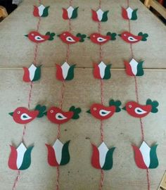 kokárda március 15 Independence Day Activities, Independence Day Decoration, Class Decoration, Diy And Crafts, Arts And Crafts, Paper Crafts, Diy For Kids, Crafts For Kids, Leaf Projects