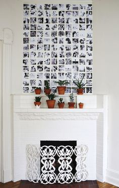 Photo wall - wall deco - home - inspiration