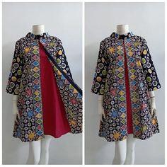 Source by batik Model Dress Batik, Batik Dress, Blouse Dress, Frock Fashion, Batik Fashion, Pakistani Fashion Casual, Pakistani Dresses Casual, Stylish Dresses For Girls, Stylish Dress Designs