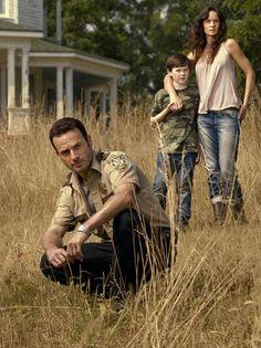 Rick, Lori & Carl Grimes ...TWD