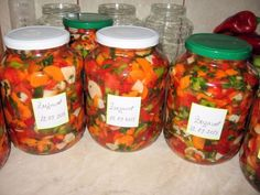 Zarzavat pentru iarna - imagine 1 mare Canning Pickles, Good Food, Yummy Food, Romanian Food, Pastry Cake, Canning Recipes, My Favorite Food, Finger Foods, Cooking Tips