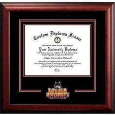 Loyola University Chicago 8.5 inch x 11 inch Spirit Diploma Frame