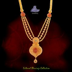 LALITHAA_JEWELLERY Embellish yourself with the long swinging haram from Polki Necklaces Designs Buy Polki Necklaces for Women Polki Necklace Sets Designer Jewellery, Gold Jewellery Design, Gold Jewelry, Gold Necklace, Gold Haram, Gold Mangalsutra Designs, Gold Models, Easy Rangoli, Gold Ornaments