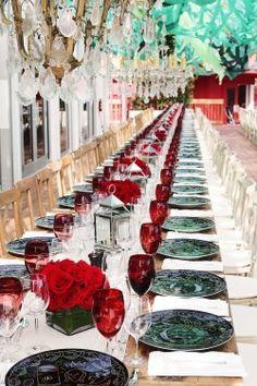 Red Winter Wedding...