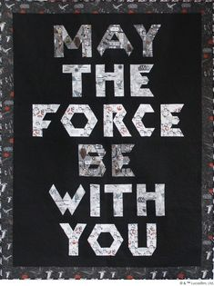 The Force Quilt by Julie Herman of Jaybird Quilts