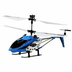 Skytech M3 Electric RC Helicopter GYRO 3.5CH RTF (Colors May Vary) by Velocity Toys. $27.95. Features:  Electric Powered Gyroscope Equipped. 3.5 Channel Coaxial Rotor. Length: 8.7 Inches Width: 3.5 Height: 4 Inches. LED Lights Easy to Fly Charging Time: 40-50. Flight Time: 5-8 Minutes Metal Frame. Package Includes:  Skytech M3 Electric RTF RC Helicopter Remote Control USB Charger. Save 44%!