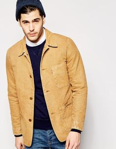 Levis   Levi's Worker Jacket Engineers 3 Pocket Cotton at ASOS