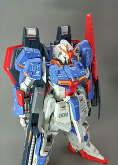 Custom Build: MG 1/100 Zeta Gundam - Gundam Kits Collection News and Reviews Zeta Gundam, Vintage Robots, Mobile Suit, The 100, Concept, News, Statues, Modeling, Collection