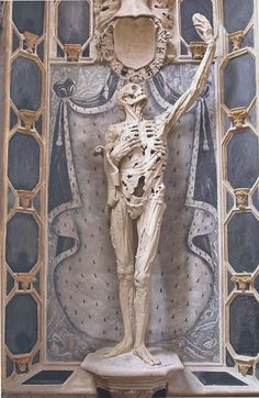 "The ""Transi de René de Chalons"" by Ligier Richier, in the church of Saint Etienne in Bar-le-Duc, France. @1557.  Cadaver tomb."