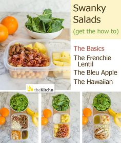 Salad recipes that take lunches from ho hum to yum │the Kitchn