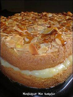 Selam canlar hepinize cici bir pazar günün diliyorum. Bu alman pastasi ne zamandir deniyecegim deyip dururken geçen gün yapmaya nasip ol...