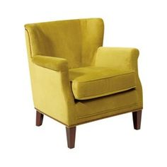 Bailey Accent Wing Chair with Brushed Nailhead - Basil Green Quick Information
