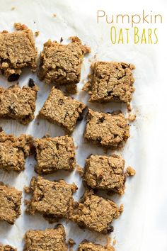 These Pumpkin oat bars are free from refined sugar & a perfect snack for kids. If you are doing BLW (Baby-led weaning) then these are perfect for babies too