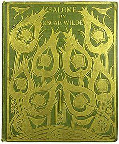 Aubrey Beardsley's cover art for Salome by Oscar Wilde, 1906