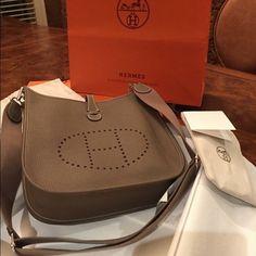 hermes evelyne bag used