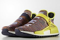 outlet store 666d9 5f1fd Adidas Pharrell NMD Hu Trail Multi-Color Pharrell Williams, Adidas  Originals, Sneaker Release