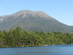 Mount Katahdin, Maine...been there, done that with my love on our honeymoon <3