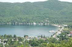 View of Lake George Village, NY from Prospect Mountain.  One of my favorite places in the world!