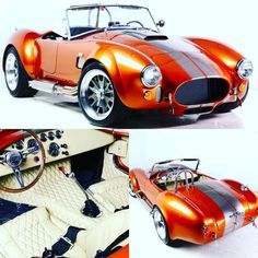 Car Ford, Ford Gt, Ford Shelby Cobra, Factory Five, 427 Cobra, Pony Car, Unique Cars, Hot Rides, Us Cars