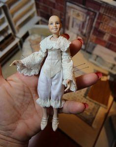Work in progress <3 my latest doll for the new year <3 Still a lot to do :-D
