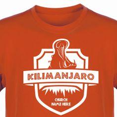 Safari VBS Shirt for Camp Kilimanjaro VBS - Custom VBS T-Shirt (Available in 40+ Shirt Colors) #CampKilimanjaroVBS #VBSTShirt #VBS