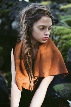 ∆ Amazing braids. Photo by Parker Fitzgerald.