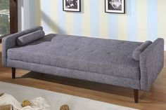 modern fabric Sofa Sleeper with select hardwood construction and wooden legs. Converts to sofa bed. This Sofa Sle. Best Leather Sofa, Sofa Bed Design, Cheap Sofas, Modern Sofa Bed, Sofa Design, Comfy Sofa, Elegant Sofa, Buy Sofa, Cheap Sofa Beds